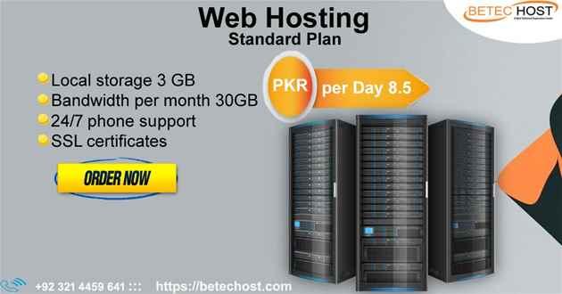 Web Hosting Company - Web Hosting in Lahore - BeTec Host