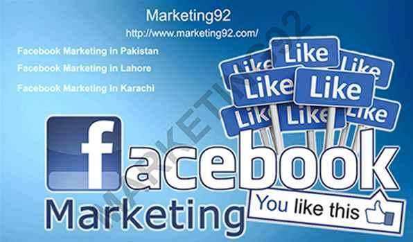 Best Services of Facebook Marketing in Pakistan