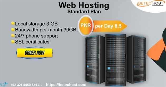 Web Hosting Company - Web Hosting in Lahore - BeTec Host